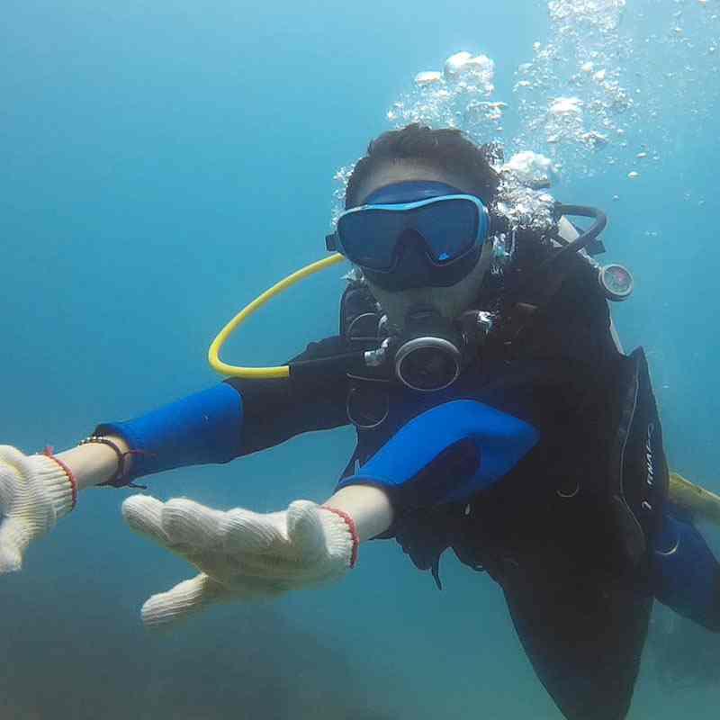 體驗潛水-入門潛水員