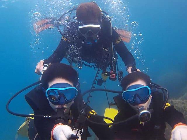 customed-TSD02 標準化體驗潛水