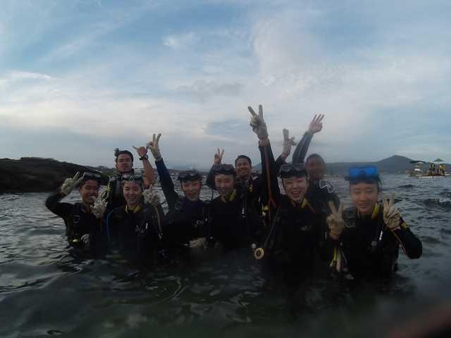 體驗潛水花絮