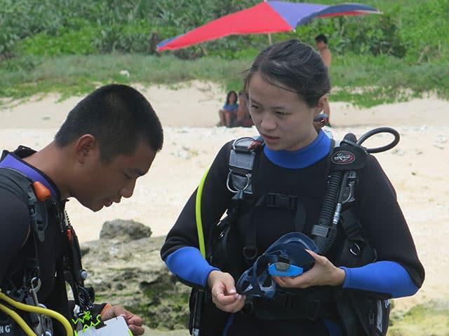 customed-TSD07 標準化體驗潛水