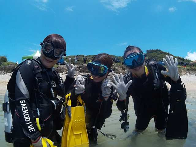 customed-TSD09 標準化體驗潛水