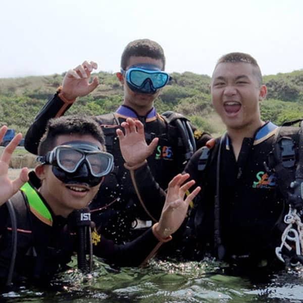 潛水課程-體驗潛水