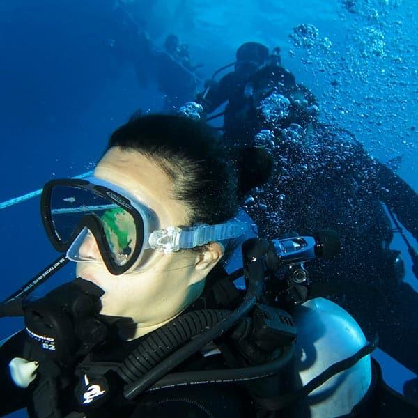 離島潛水旅遊