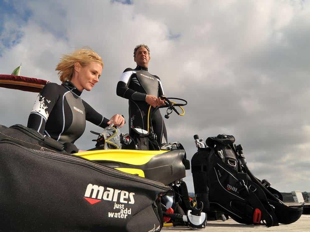 light-gear-scuba-gear 潛水重裝
