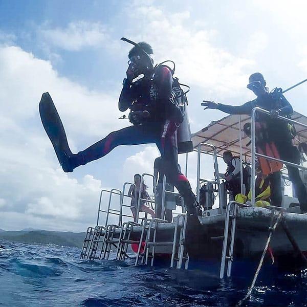 更多潛水專長