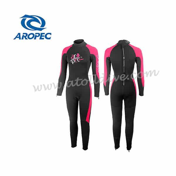 scuba-gear-aropec-wetsuite-DS-5B130-1W-4Z-3mmNNPI-DPK 潛水套裝
