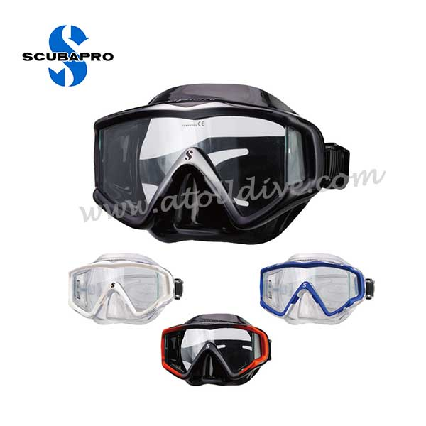 scuba-gear-scubapro-mask-crystak-vu 潛水套裝