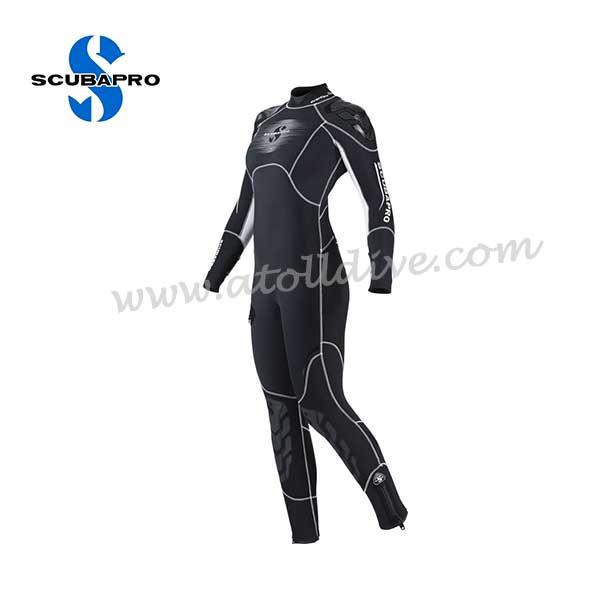 scuba-gear-scubapro-wetsuite-everflex-females 潛水套裝
