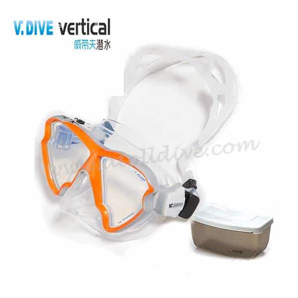 scuba-gear-v-dive-mask-b33sc 潛水套裝
